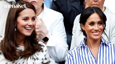 Herttuattaret Catherine ja Meghan.