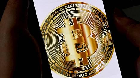 Bitcoin on niin sanotuista kryptovaluutoista tunnetuimpia.