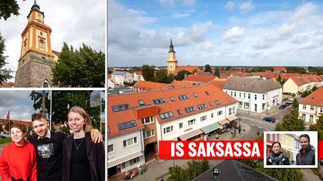 Angela Merkel vietti lapsuutensa ja nuoruutensa Itä-Saksaan tuolloin kuuluneessa Templinin pikkukaupungissa.