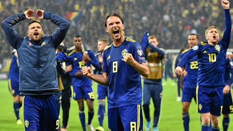 Ruotsi selviytyi EM-kisoihin nyt kuudetta kertaa perättäin.