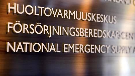 Huoltovarmuuskeskuksen suojainvarusteiden hankintayksikkö aloitti toimintansa tiistaina.