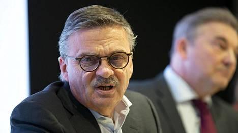 Rene Fasel on Kansainvälisen jääkiekkoliiton IIHF:n nokkamies.