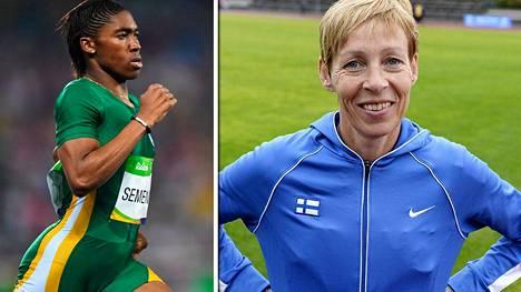 Eteläafrikkalainen Caster Semenya voitti olympiakultaa Riossa. Entinen huippujuoksija Tuija Helander seurasi kisaa tarkasti.