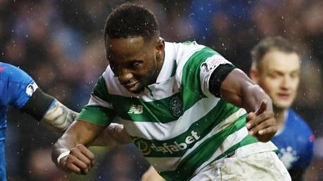 Celticin Moussa Dembele paukuttelee hattutemppuja.