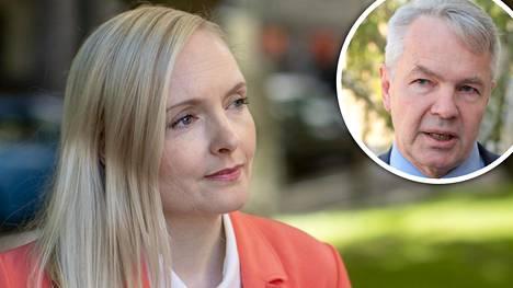 Maria Ohisalo ja Pekka Haavisto.