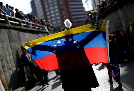 Oppositio on jatkanut mielenosoituksia Venezuelassa, vaikka presidentti Nicolas Maduron hallinto on tukahduttanut niitä kovin ottein.
