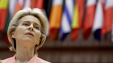EU-komission puheenjohtaja Ursula von der Leyen.