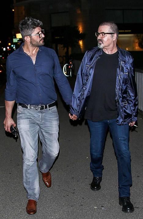 Fadi Fawaz (vas.) seurusteli George Michaelin kanssa neljän vuoden ajan.