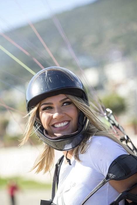 Rosa-Marian hymy ei hyytynyt extreme-urheilussakaan.