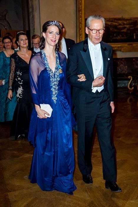 Bettina Bernadotte ja Tomas R Nicolin.