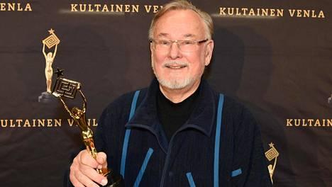 Hannu Karpo palkittiin tammikuussa elämäntyö-Venlalla.