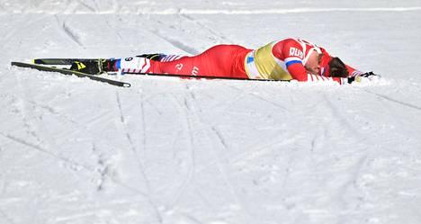 Sergei Ustjugov ei päässyt MM-kisoissa haluamaansa kuntoon.