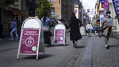 Huijauksesta epäilty yritys on myynyt koronatestejä 1 500 kruunun (noin 147 euron) hintaan, mutta ei ole toimittanut näytteitä analysoitavaksi.