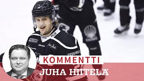 Lauri Korpikoskea ei ole nähty SM-liigassa viime marraskuun jälkeen.