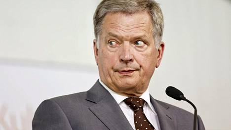 Presidentti Sauli Niinistö tuomitsee Asema-aukiolla tapahtuneen väkivallanteon.