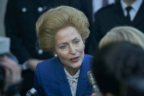 Gillian Anderson on saanut Margaret Thatcher -tulkinnastaan sekä kehuja että haukkuja.