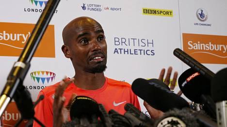 Kestävyysjuoksijatähden Mo Farahin terveystiedot tutkitaan dopingin varalta.