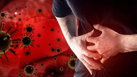 Hepatiitti voi oireilla muun muassa vatsavaivoina.