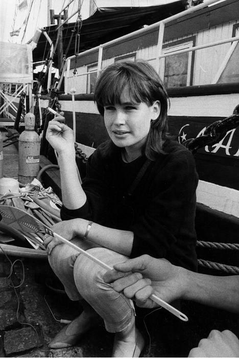 Tuula Amberla 25-vuotiaana elokuussa 1984.
