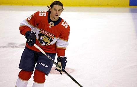 Erik Haula päätti kautensa Florida Panthersin miehenä.