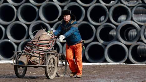 OECD povaa Kiinan talouskasvuksi tänä vuonna 6,7 prosenttia.