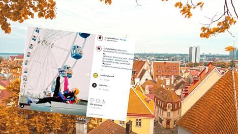 Virosta löytyy taas uutta nähtävää. Viime syksynä avatun Mall of Tallinn -ostoskeskuksen päältä löytyy maailmanpyörä.
