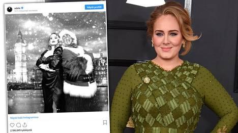 Laulajatähti Adelen jouluna julkaisema kuva on kerännyt merkittävää huomiota sosiaalisessa mediassa.