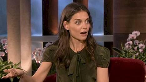 Katie Holmes selitteli tyttärensä karkkivalintaa kauhuissaan Ellen DeGeneresille.