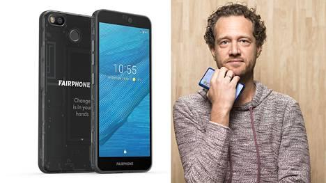 Bas van Abel on yksi vuonna 2013 aloittaneen Fairphonen perustajista. Alun perin Fairphone oli kansanliike.