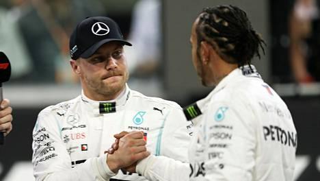 Valtteri Bottas hävisi tallikaverilleen Lewis Hamiltonille aika-ajoissa, mutta sillä ei ollut juuri merkitystä, koska jo aiemmin oli tiedossa, että suomalaiskuljettajan on lähdettävä Abu Dhabin kisaan viimeisestä lähtöruudusta.