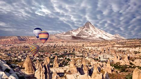 Maailman kauneimpien kohteiden listalta löytyy muun muassa Turkin Kappadokia.