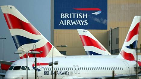 British Airways on lentänyt Pekingiin ja Shanghaihin.