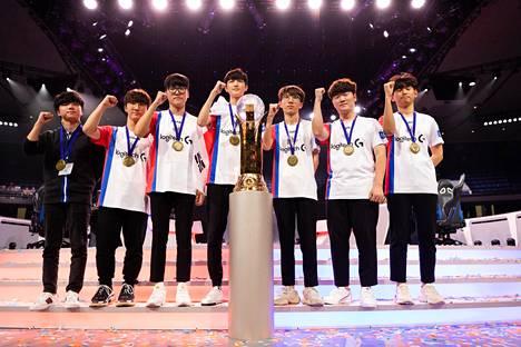 Etelä-Korea on voittanut kolmesti järjestetyn World Cupin joka kerta.