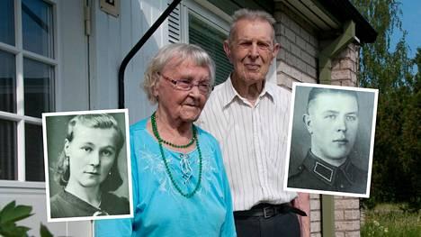 Anni ja Evert Stolpe asuvat Närpiössä. Molemmat ovat saavuttaneet 100 vuoden iän. Yhteistä taivalta on takana vuosikymmeniä.