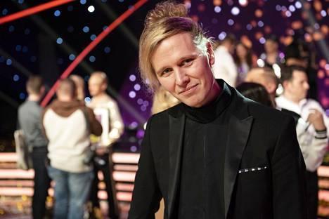 Christofferin puoliso Janne Strandberg jännitti yleisössä.