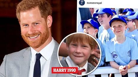 Lontoossa järjestetyssä kriketin maailmanmestaruuskilpailussa yksi paikalla olleista pojista näytti aivan samalta kuin miltä Harry näytti ollessaan pieni poika.