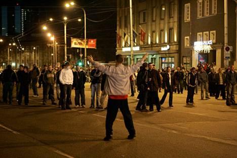 Tallinnassa mellakoitiin rajusti huhtikuun lopulla.