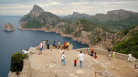Mallorcan hienoimmat maisemat löytyvät vuoristosta ja pohjoisrannikolta, eivät etelästä.