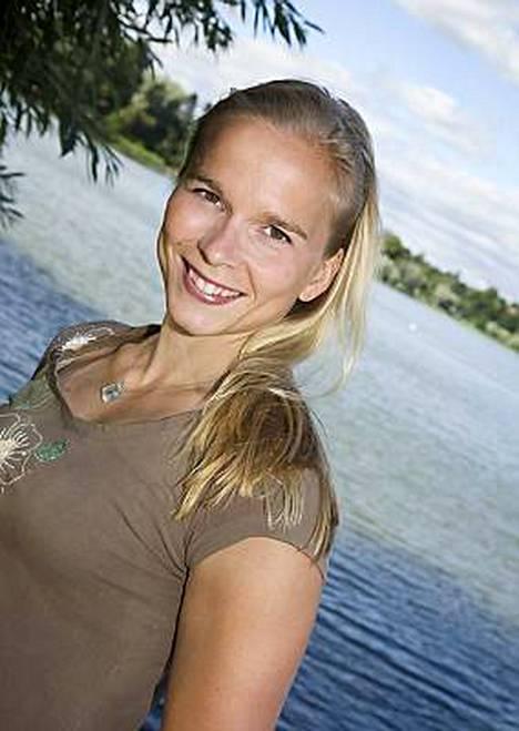 Moninkertainen pika-aitojen Suomen mestari Johanna Halkoaho oli äänestyksen kakkonen.