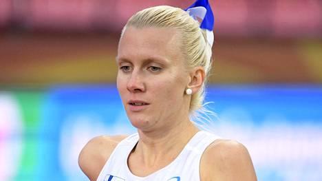Sandra Eriksson on tuore SE-nainen.