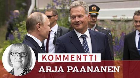 Vladimir Putin, 65, uusii valtakautensa maaliskuussa. Jännitettäväksi jää, lyökö hän virallisten tulosten myötä Sauli Niinistön, 69, luvut äänestysaktivisuudessa ja äänimäärässä.