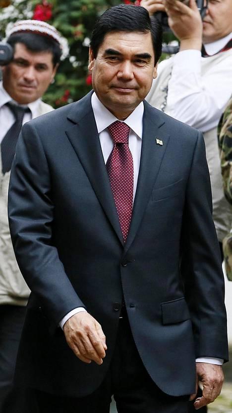 Gurbanguly Berdimuhamedow nousi Turkmenistanin presidentiksi vuonna 2006.