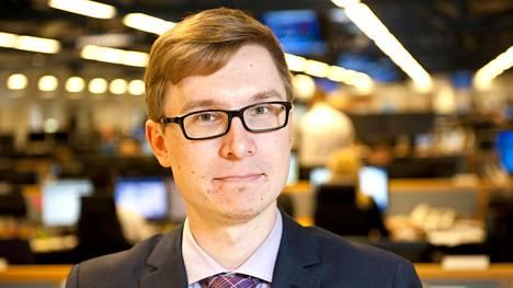 Nordean Olli Kärkkäinen on yksityistalouden ekonomisti.