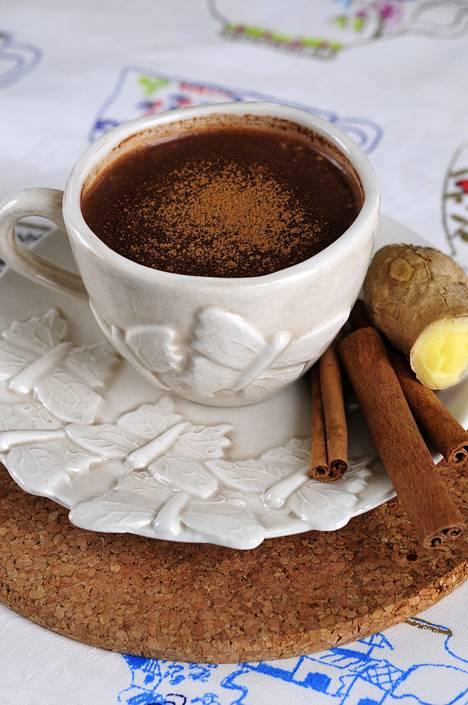 Kaakao on ihana, lämmittävä juoma, jossa on vähän kofeiinia.
