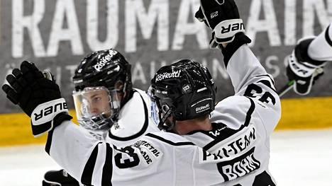 TPS juhli avausfinaalissa kahdesti Lauri Pajuniemen maalia.