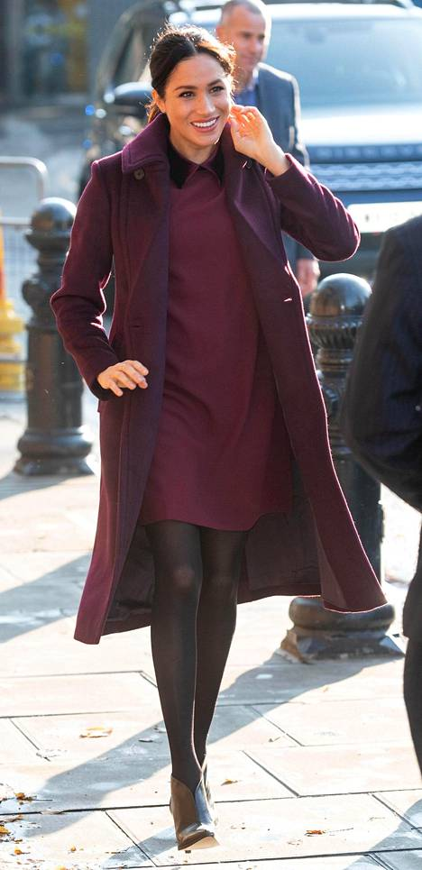 Herttuatar Meghan Lontoossa marraskuussa 2018.