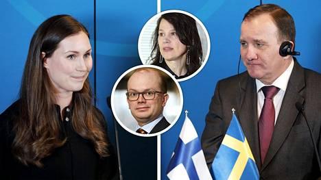 Suomalaisekonomistit löytävät useita syitä sille, miksi Ruotsi nousee koronalamasta Suomea rivakammin.