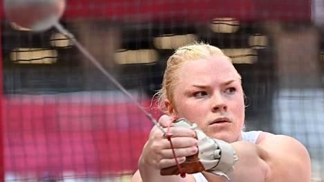 Krista Tervo ei onnistunut olympialaisissa.