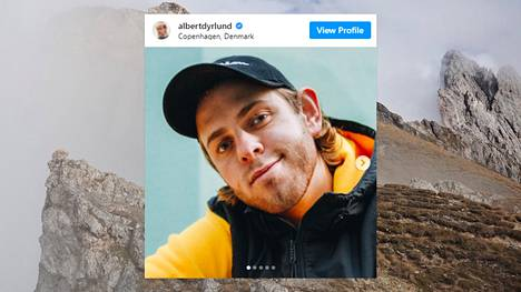 Tanskalainen Albert Dyrlund kuoli onnettomuudessa italialaisella Seceda-vuorella.