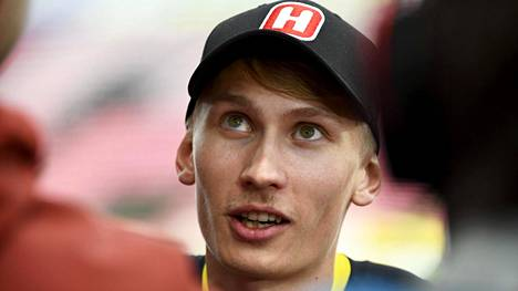 Samuli Samuelsson kuvattuna heinäkuussa.